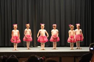 Autumn's dance class