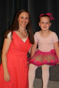 Autumn and Carrie Krogh (her dance teacher)