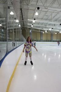 Josie skating